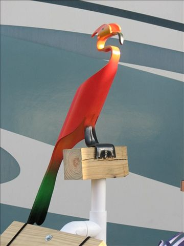 Check out http://staugbirdman.com! prices for Robins PVC Birds