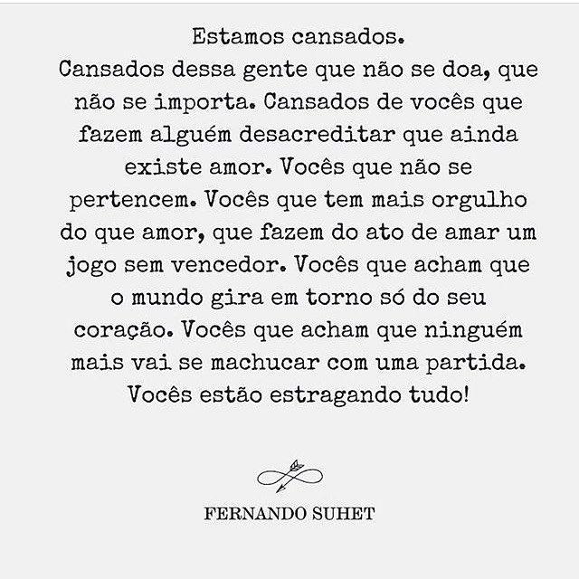 Um brinde aos que despertam o amor no outro com o coração aberto. Isso é raro e quando acontece, se entrega! ByNina 📸 @nandosuhet #amor #textos #frases #relacionamentos