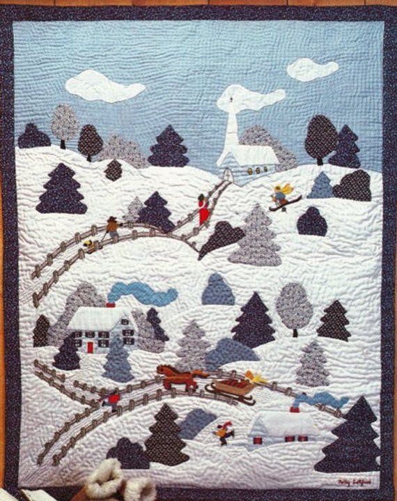 Poster /& Wall Applique Quilts Fast Festive Fusible Design Quilting Pattern Book