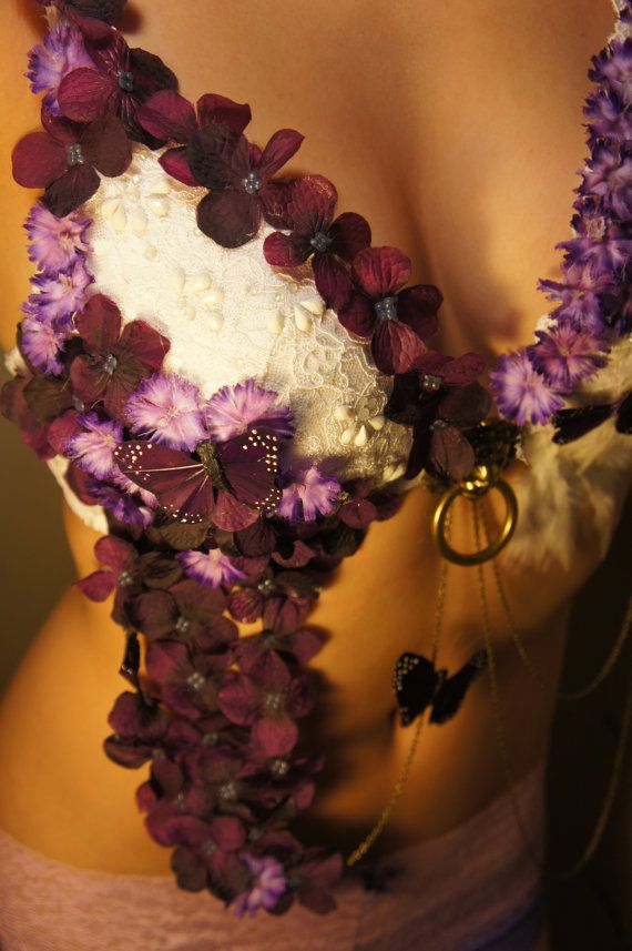 Alice in Wonderland Rave Bra MADE TO ORDER by Carouchelle on Etsy
