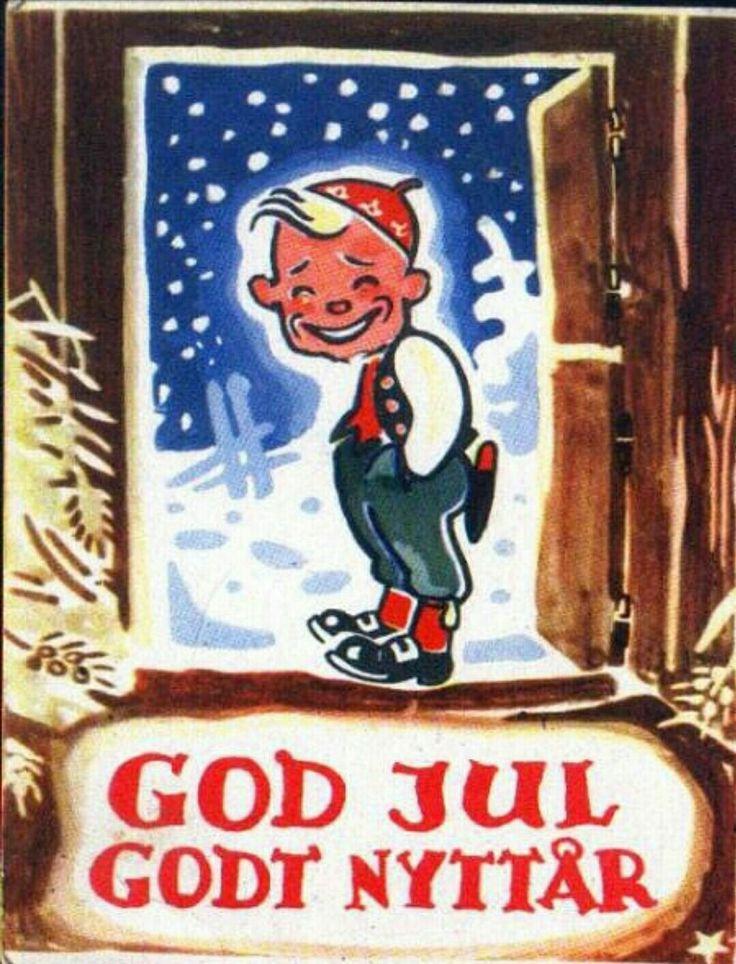 Julekort Arne Taraldsen