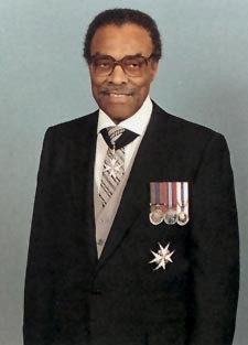 Lincoln MacCauley Alexander was Ontario's first black lieutenant-governor, and the 24th in provincial history. He served from September 20, 1985 to December 10, 1991. Prior to that, in 1968 he was elected to Parliament for Hamilton West, becoming Canada's first black MP. He also served in the Royal Canadian Air Force during the Second World War.