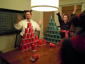 Christmas games http://thekeylorfamily.blogspot.com/2011/12/tacky-christmas-party.html?m=1