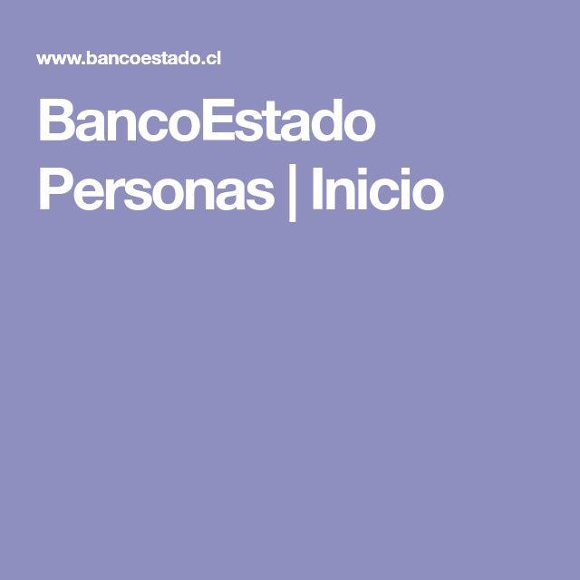 BancoEstado Personas | Inicio
