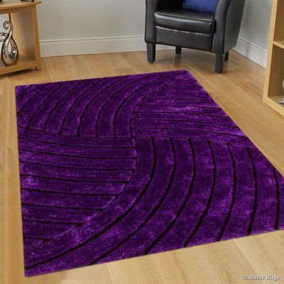 Allstar Rugs Hand Tufted Lilac Area Rug Purple Home Decor Purple Furniture Purple Home