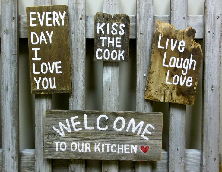 pinrustic signslisa curry designs on kitchen and