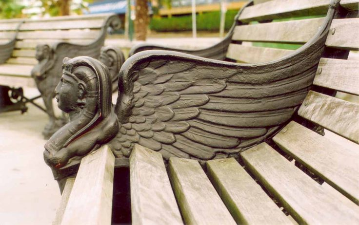 Winged bench