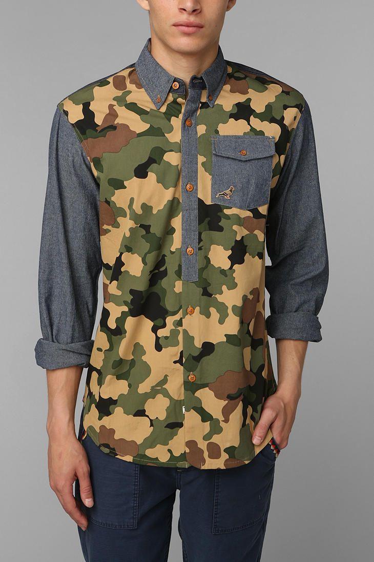 Staple Lorca Button-Down Shirt #urbanoutfitters #Mens #Dress