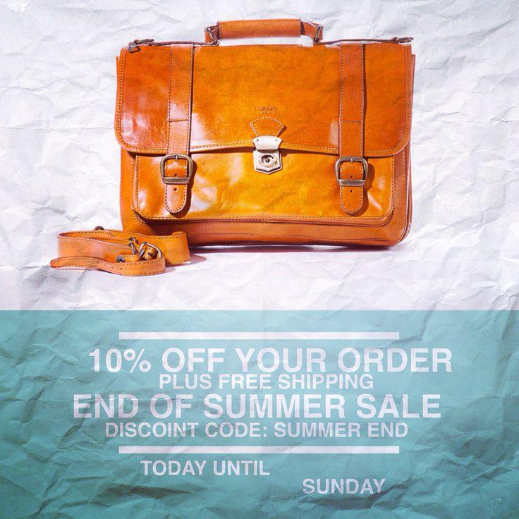 Shop in store or online at pelleitalianleather.com valid through Sunday, September 7, 2014.