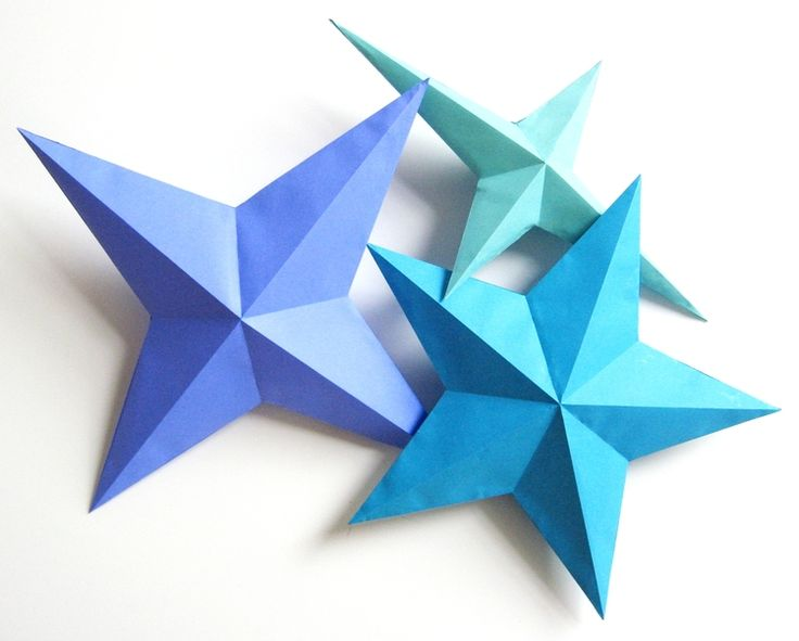 Paper Stars - Part 1 - How Did You Make This?   Luxe DIY