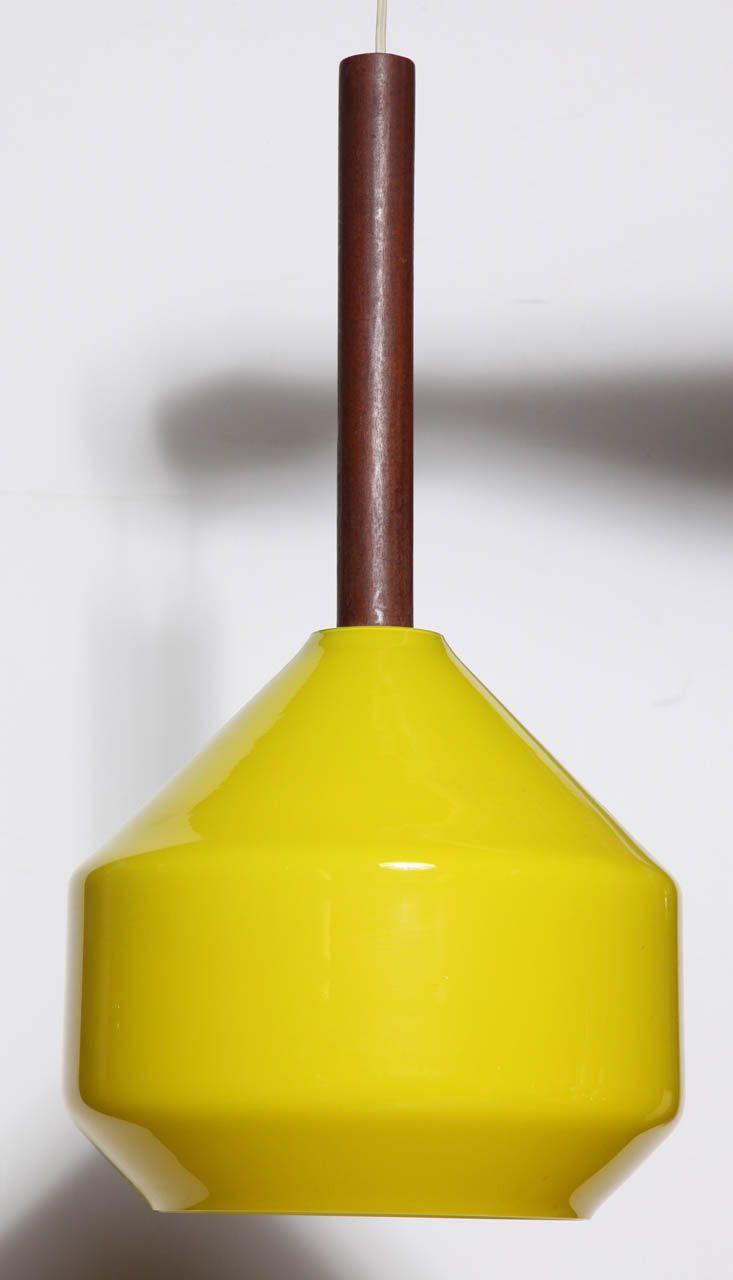 Yellow Tapio Wirkkala Hanging Pendant image 2