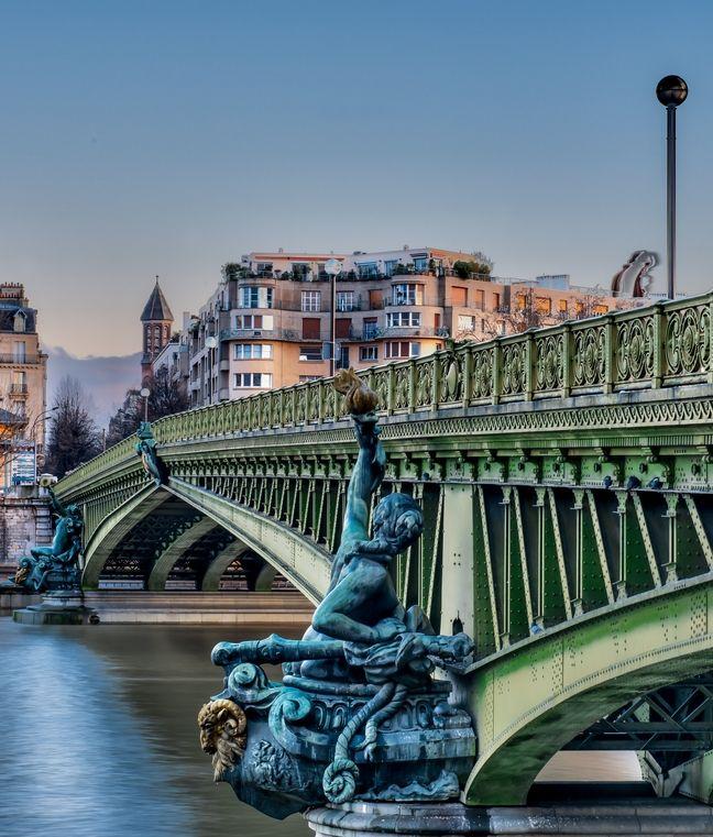 Pont Mirabeau bridge, Paris