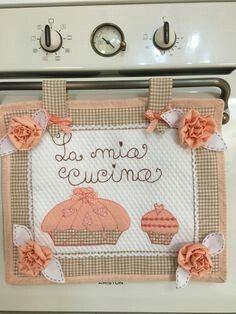 17 Best images about Copriforno on Pinterest  Stove, Dish towels and ...