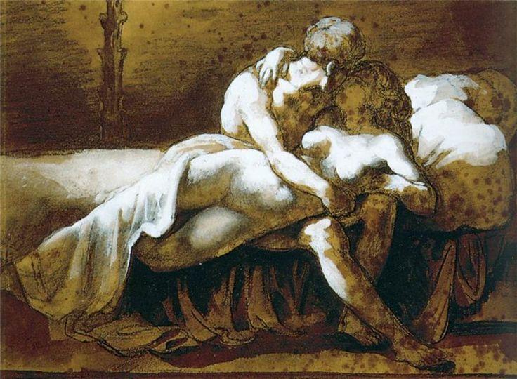 Теодор Жерико. Поцелуй. 1822
