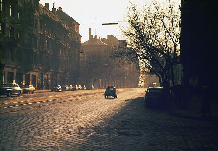 1968, Bartók Béla út az Orlay utcától a Gárdonyi tér felé.