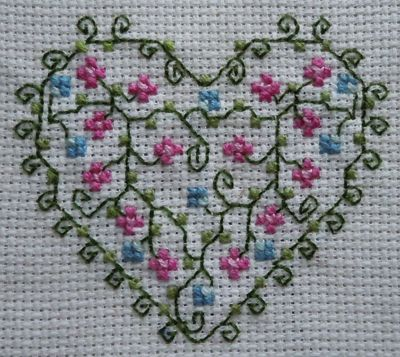 LOTS of small cross-stitch patterns!