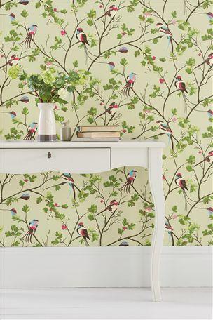 Bird Menagerie Wallpaper