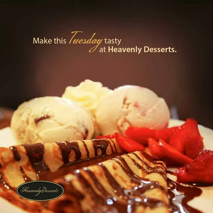 Pancakes and ice cream at Heavenly Desserts. :) I love ice cream parlours.