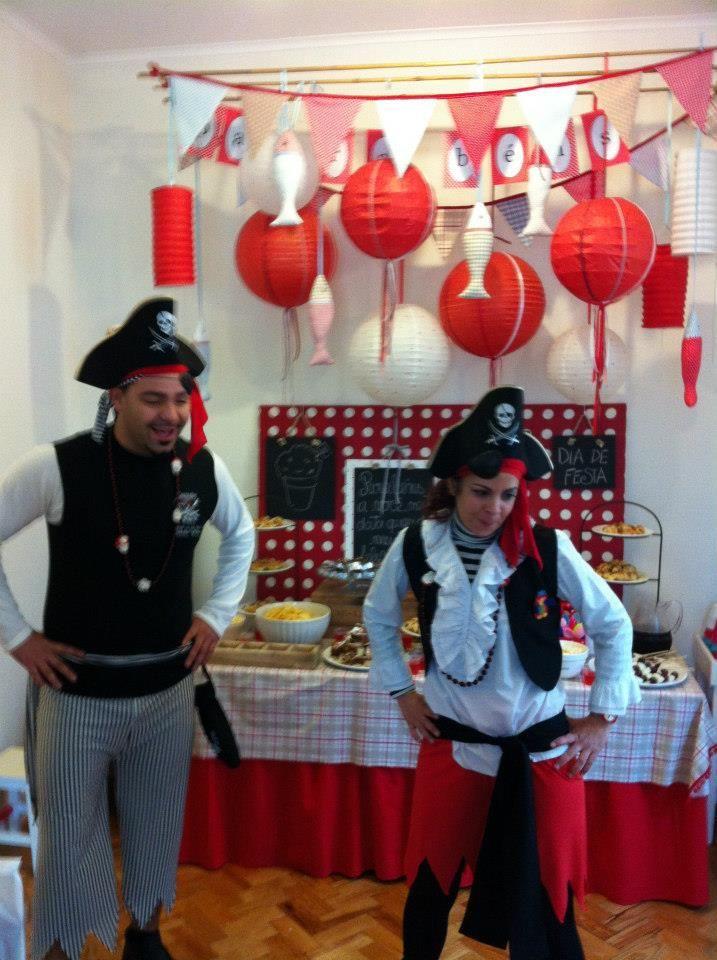 Festa só para piratas e piratinhas