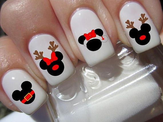 Add a Little Mickey Mouse Magic to Your Nails This Holiday Season