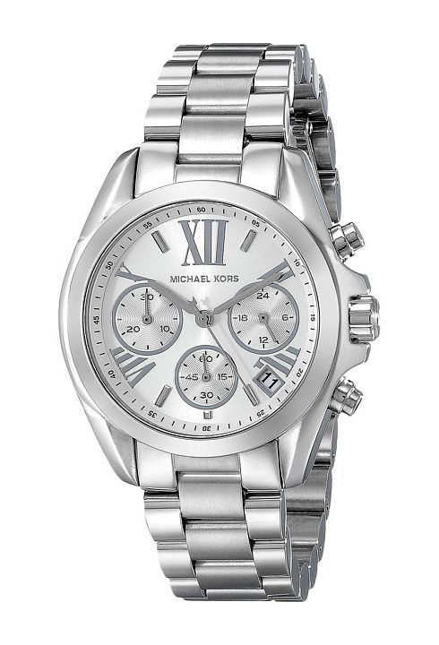 Michael Kors MK6174 Mini Bradshaw (Silver) Watches - Michael Kors, MK6174 Mini Bradshaw, MK6174, Jewelry Watches General, Watches, Watches, Jewelry, Gift, - Fashion Ideas To Inspire