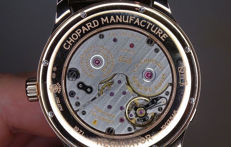 #Chopard L.U.C Regulator calibre