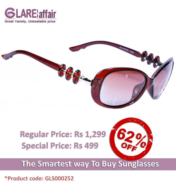 EDWARD BLAZE EB12908 BROWN POLARIZED SUNGLASSES http://www.glareaffair.com/sunglasses/edward-blaze-eb12908-brown-polarized-sunglasses.html  Brand : Edward Blaze  Regular Price: Rs1,299 Special Price: Rs499  Discount : Rs800 (62%)