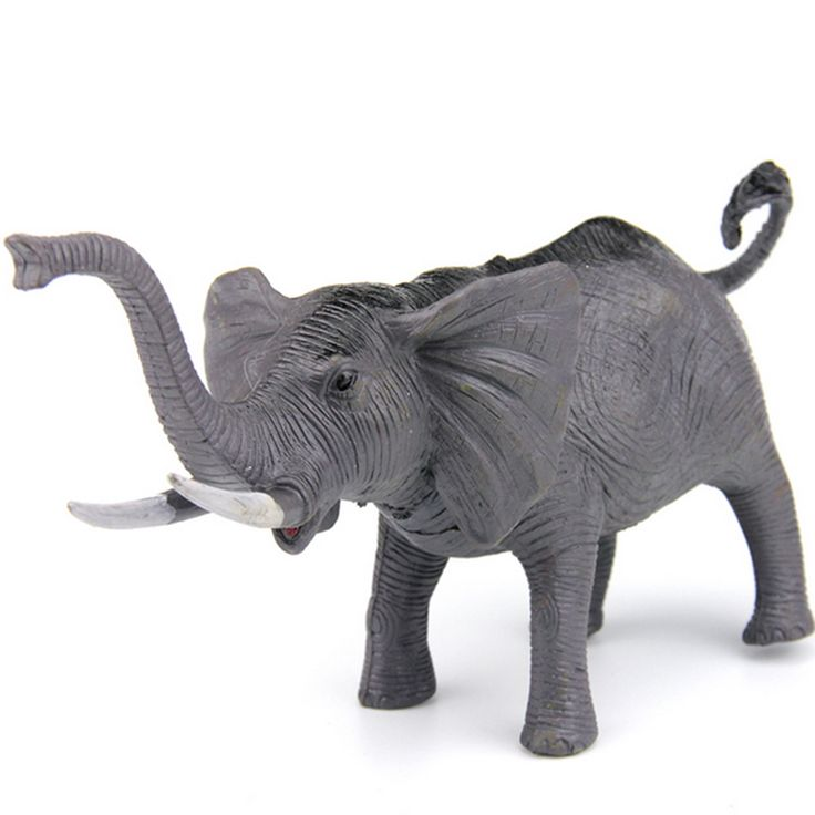 Wild Animals Elephant Model PVC Action Figures for Children //Price: $19.80 & FREE Shipping //     #actionfigure