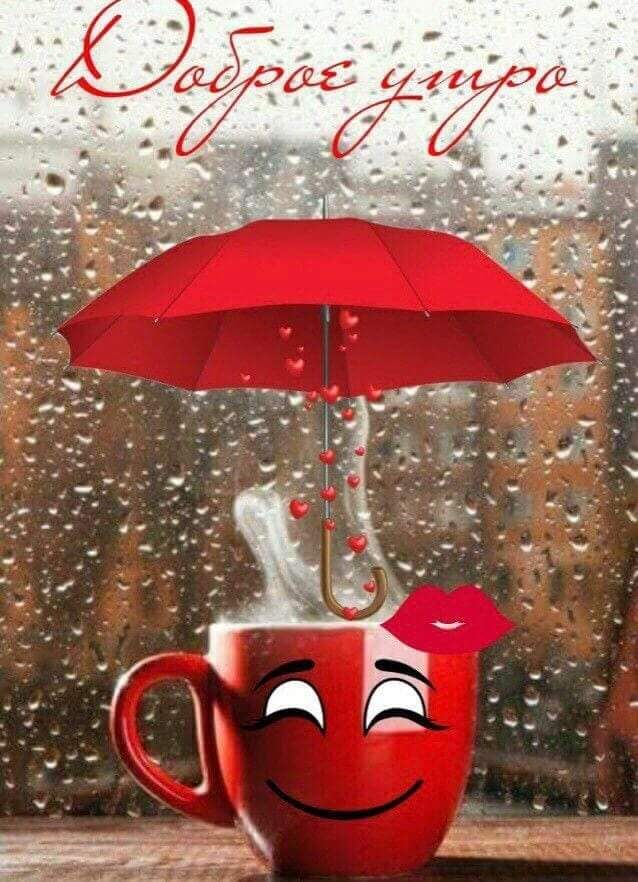 Картинки про дождь красивые с надписями