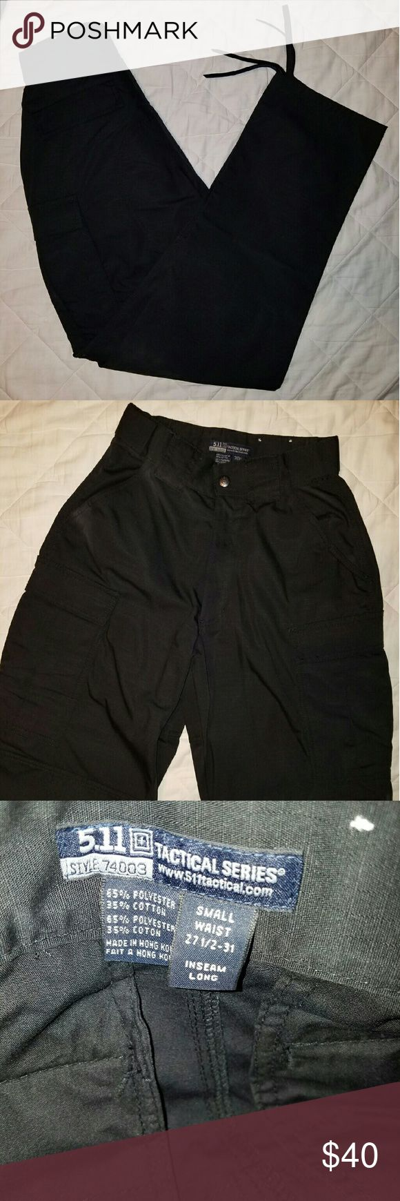 "NWOT 511 tactical TDU pants 27.5-31"" x 34"" These are brand new without tags. Waistband stretches from a 27.5"" to 31"".  I've owned several of these pants and they are awesome!  Very durable and long lasting.  Great for law enforcement,  fire, security, EMT, etc. Retail for $$49.99 5.11 Tactical Pants Cargo"