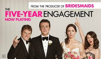 Enter for a chance to win $3,000.00 in Amazon.com Gift Cards @ AmazonEngagement 2012, Fiveyear Engagement, Engagementthi Movie, Engagement Movie, Five Years Engagement, 5 Years, Favorite Movie, Movie Watches, Movie Favorite
