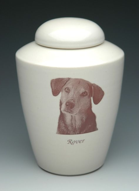 Photo Pet Cremation Urn for Dogs | Shape 1