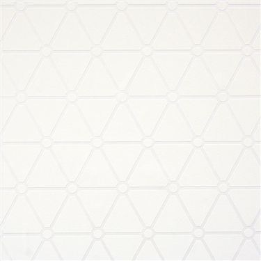 Ivory Hexagonal Is A Large Scaled Highly Dynamic Overlapping Wallpaper It Adds Strong Graphic