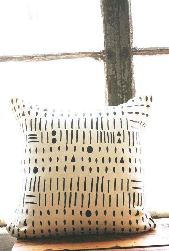 Morse Code Pillow Cover By Leahduncan On Etsy Pillows
