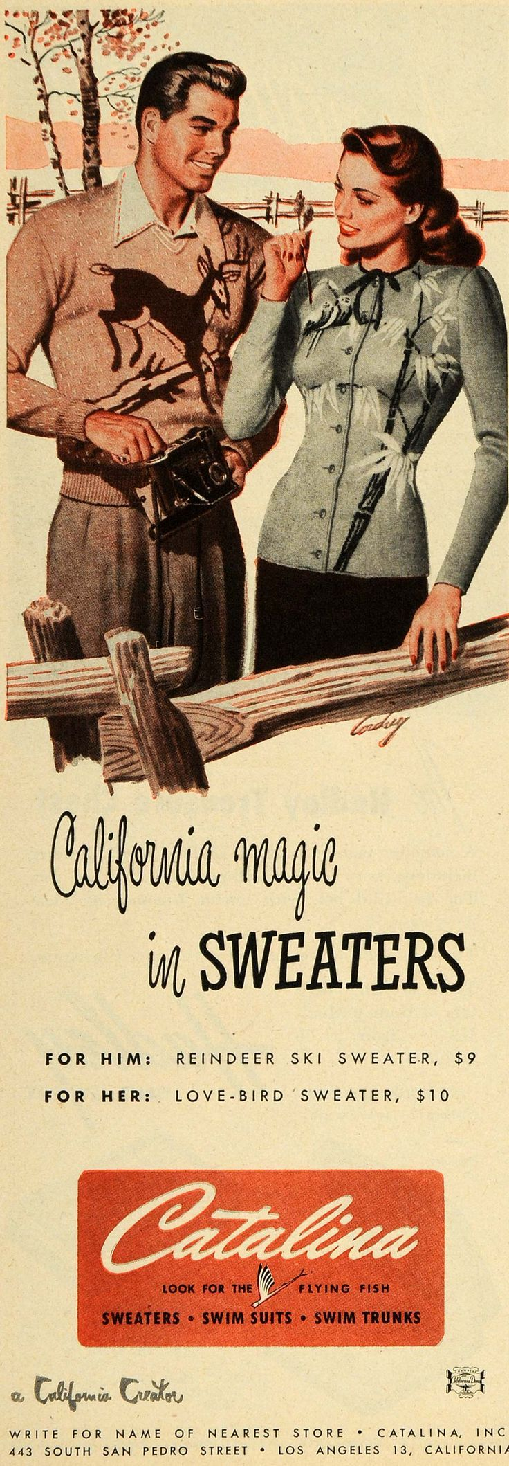 """Iconic"" sweaters from the 1940s! 