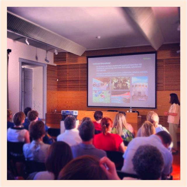 EMAC 2012, Day #4: afternoon conferences @ Casa da Cerca, Almada