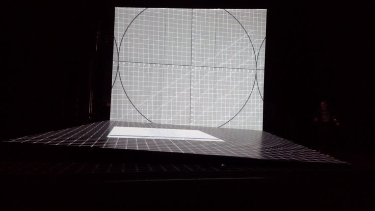 Laterna magika - Cube - projection test - work in progress