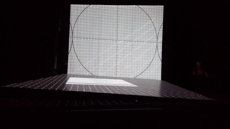 Laterna magika - Cube - projection test - work in progress