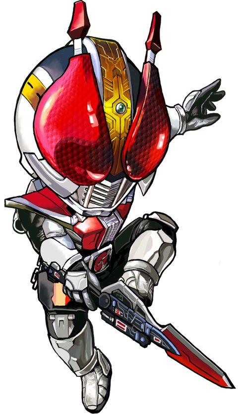 Kamen Rider Den‑O Sword (Ryotaro Nogami/Momotaros) by Artist Unknown