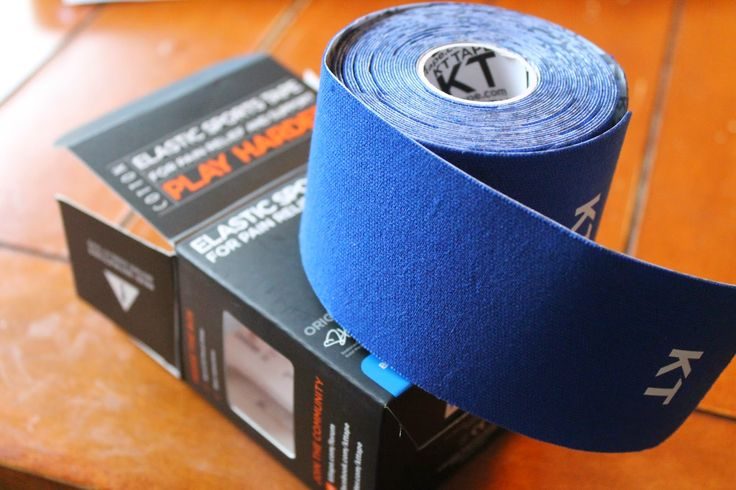 How to fix my sore knee - suffering from pes anserine bursitis.  Youch!  Used some sweet KT Tape (kinesio tape).