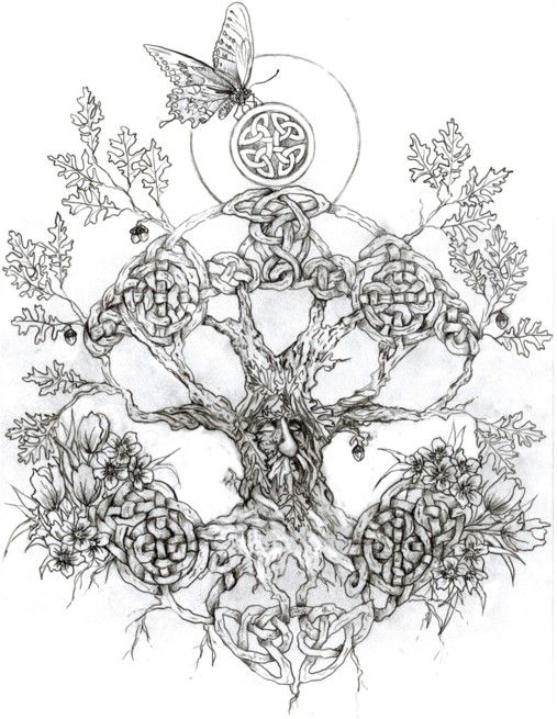 celtic tree tattoo - Google Search