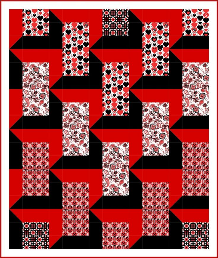 The Attic Windows pattern is one of the most popular and best loved of all three dimensional quilt patterns! The pattern draws the eye into ...