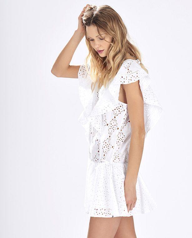 Flirty summer swimwear cover-up