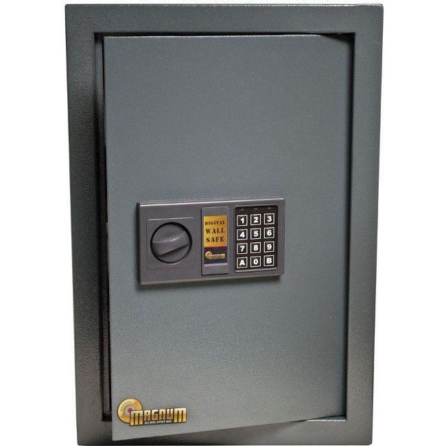 Hidden Wall Safe Digital Lock Steel Gun Jewelry Built-In Safety Storage Cabinet #wallsafe #digitalsafe #hiddensafe