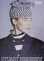 Australian designer Stuart Membery's collection Spring / Summer 1987... had several shirts!! you can scroll through the images - great archive!