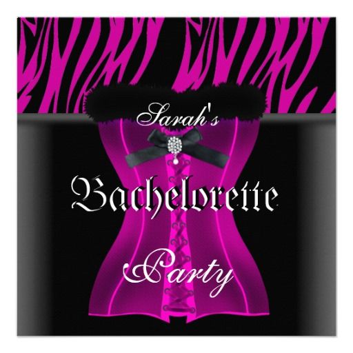 >>>Cheap Price Guarantee          	Bachelorette Party Pink Zebra Black Corset Invitations           	Bachelorette Party Pink Zebra Black Corset Invitations so please read the important details before your purchasing anyway here is the best buyThis Deals          	Bachelorette Party Pink Zebra ...Cleck Hot Deals >>> http://www.zazzle.com/bachelorette_party_pink_zebra_black_corset_invitation-161570469801090954?rf=238627982471231924&zbar=1&tc=terrest