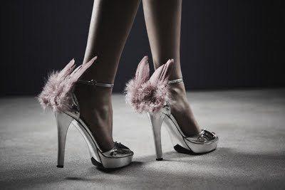 Greek God Mercury shoes. That's what I'd wear 'em for.