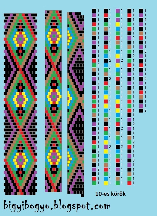 .Bead crochet pattern