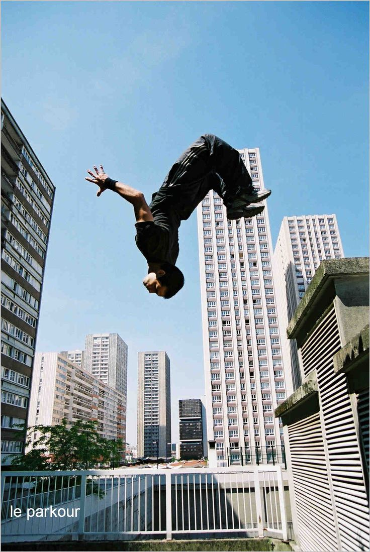 """Attempt Parkour    -I think this one can be added to the completed bucket list... I mean, I jump off high ledges and yell, """"PARKOUR!"""" all the time. I think that counts as an attempt."""
