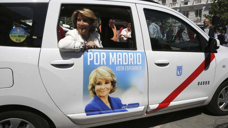 Esperanza Aguirre en la campaña al Ayuntamiento de Madrid 2015/Foto:EFE